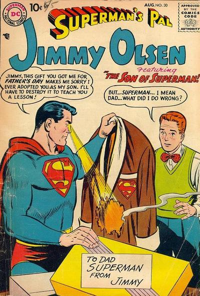 Superman's Pal Jimmy Olsen Issue No. 30