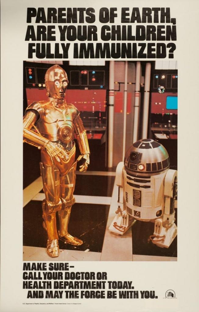 Star Wars Immunization Ad