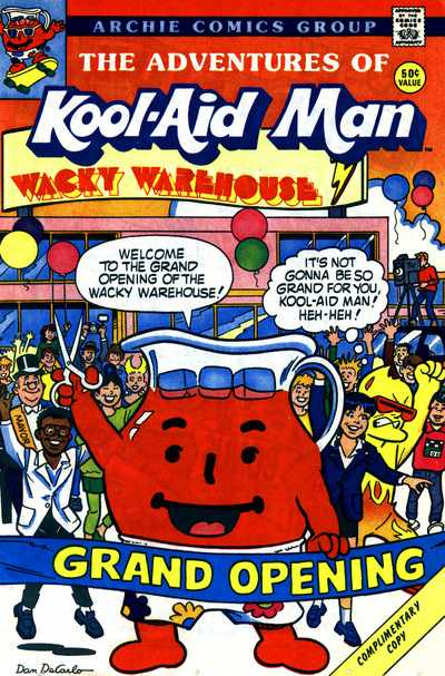 The Adventures of Kool-Aid Man - Issue 5
