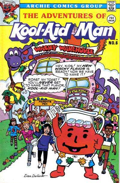 The Adventures of Kool-Aid Man - Issue 6