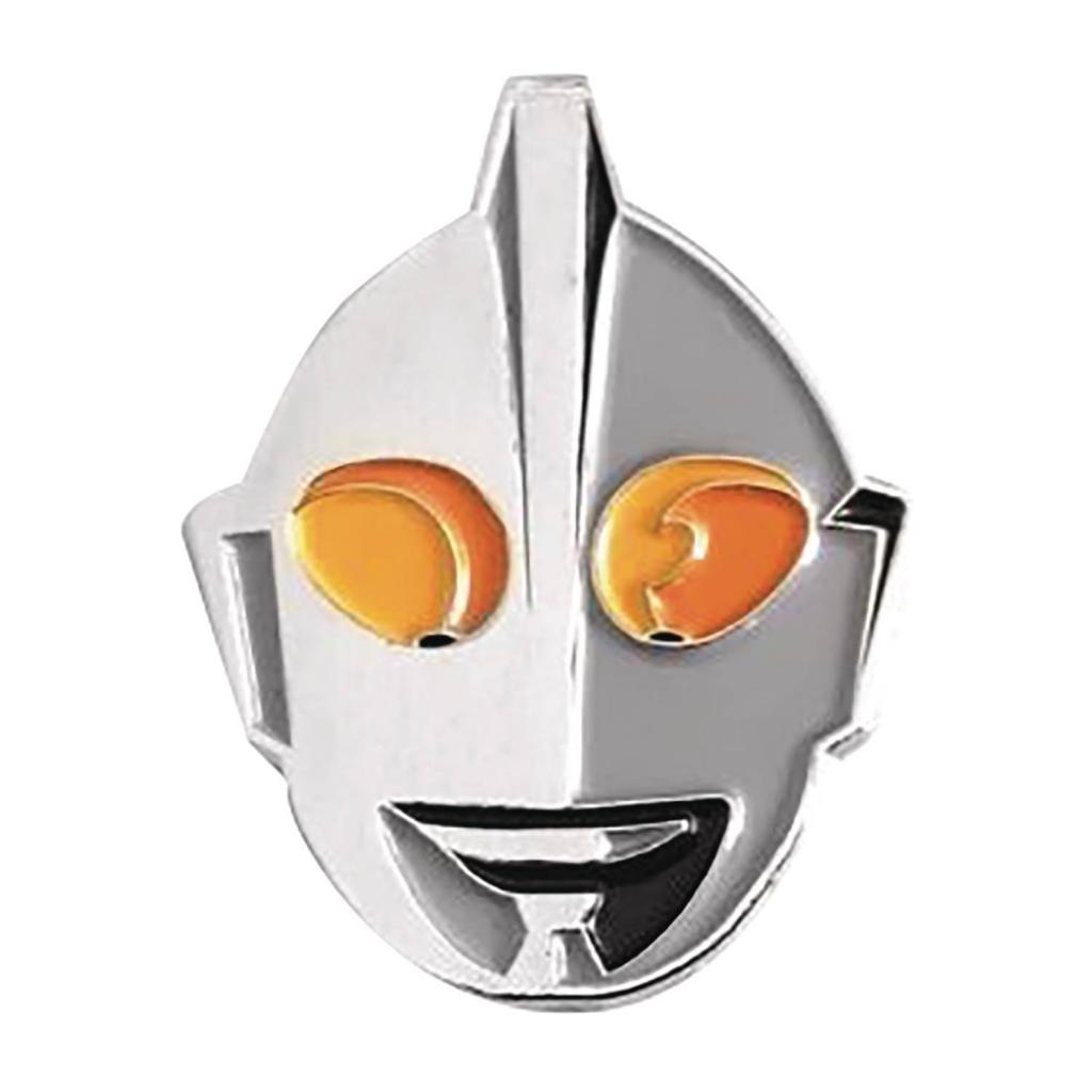 Ultraman Face Enamel Pin