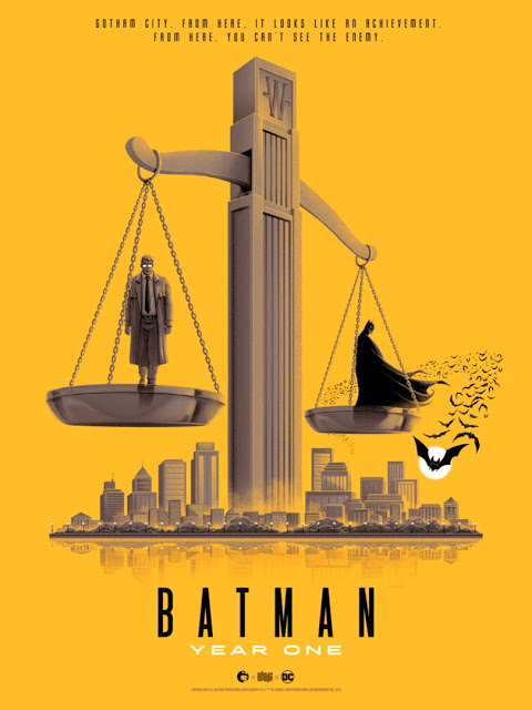 Batman Year One Print by Patrick Connan