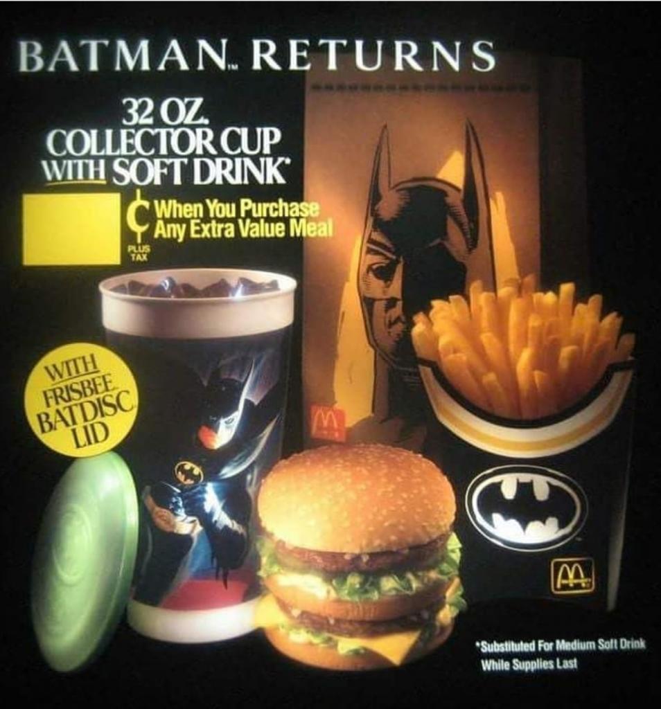 Batman Returns McDonald's Happy Meal