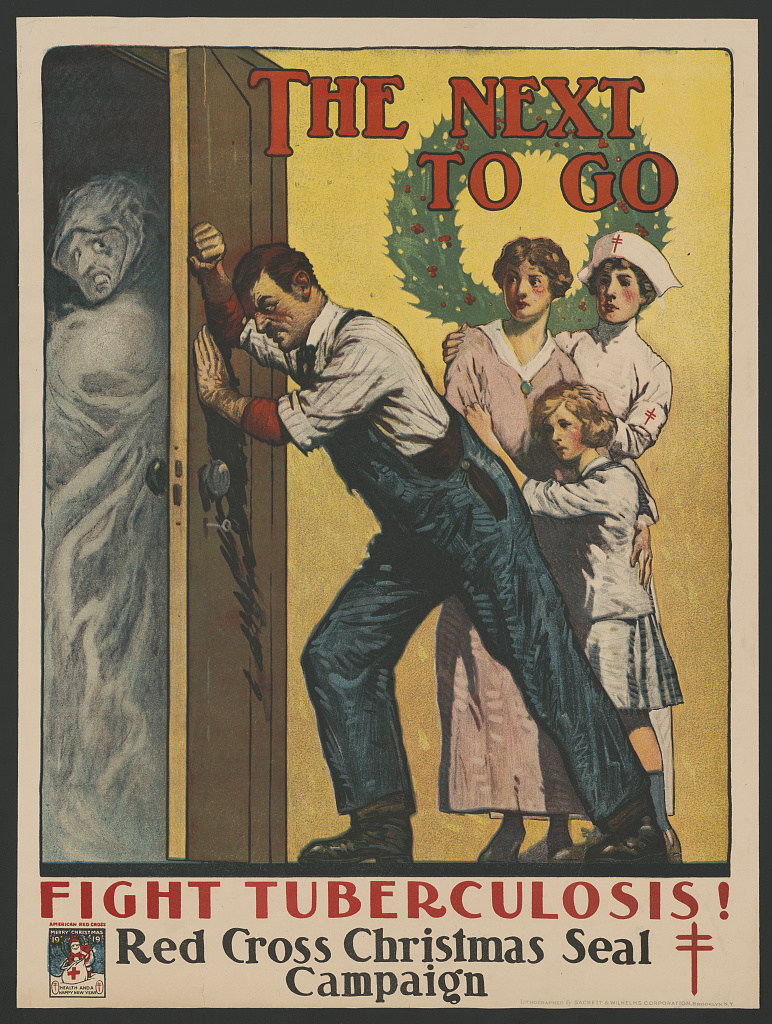 Red Cross Poster, 1919 - Fight Tuberculosis!