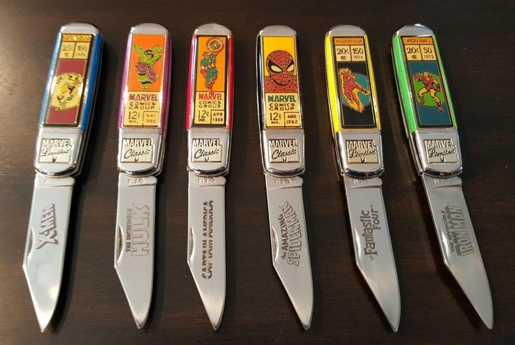 Franklin Mint Marvel Knives