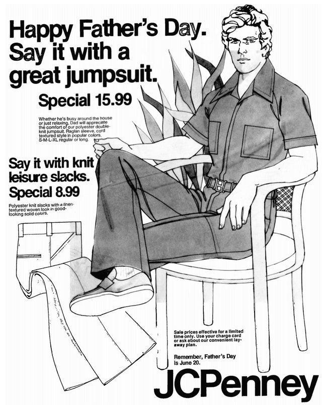 JCPenney Father's Day Ad, 1976