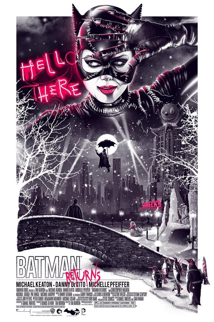 Batman Returns Poster by Patrick Connan
