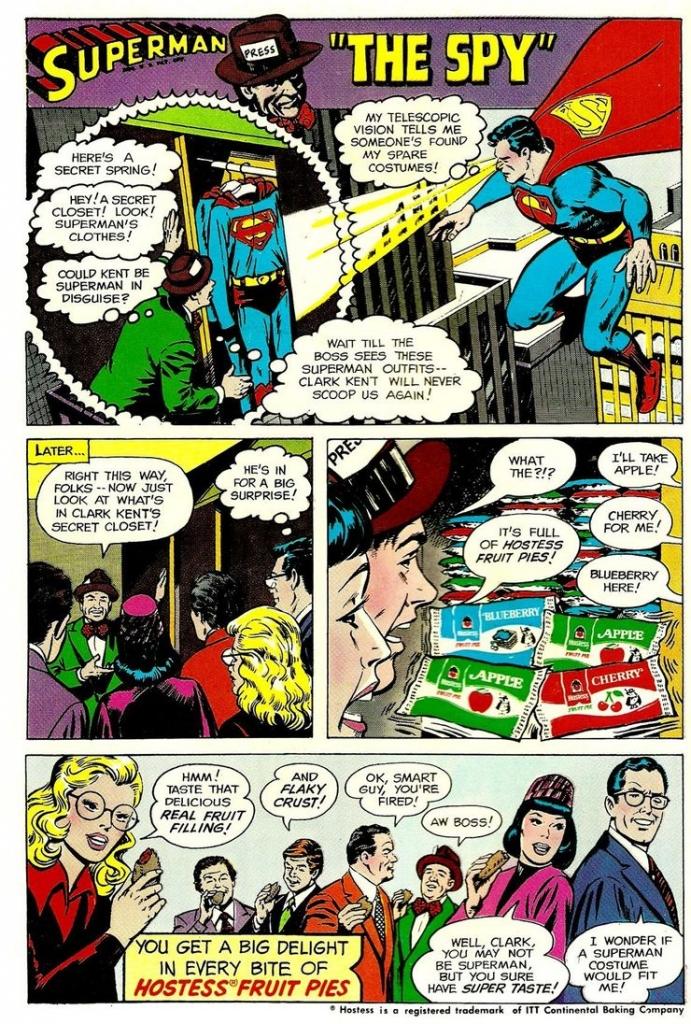 "Superman Hostess Fruit Pies Ad: ""The Spy"""