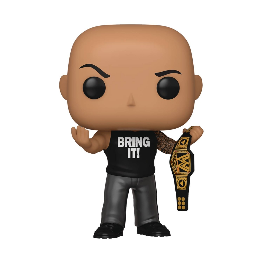 Funko Pop! - The Rock With Championship Belt