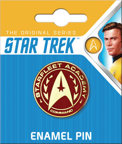 Star Trek Enamel Pins - Starfleet Academy Command Insignia