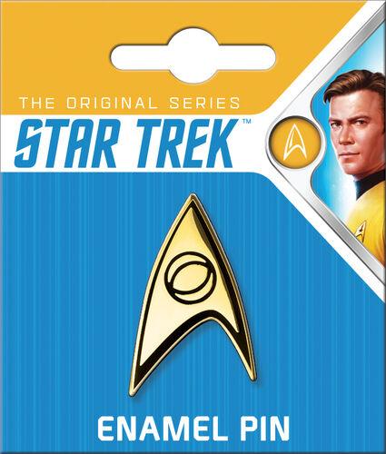 Star Trek Enamel Pins - Science Insignia