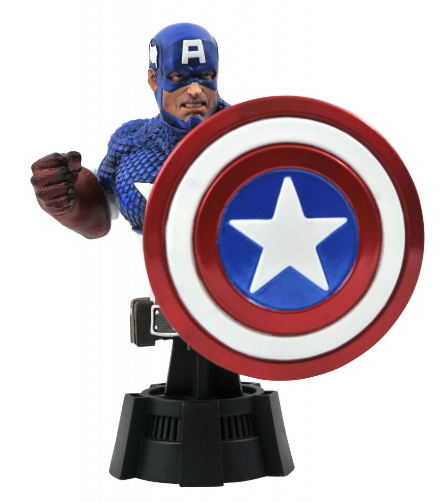 Captain America 1/7 Scale Mini-Bust