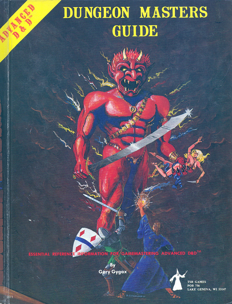 Advanced Dungeons & Dragons - Dungeon Masters Guide