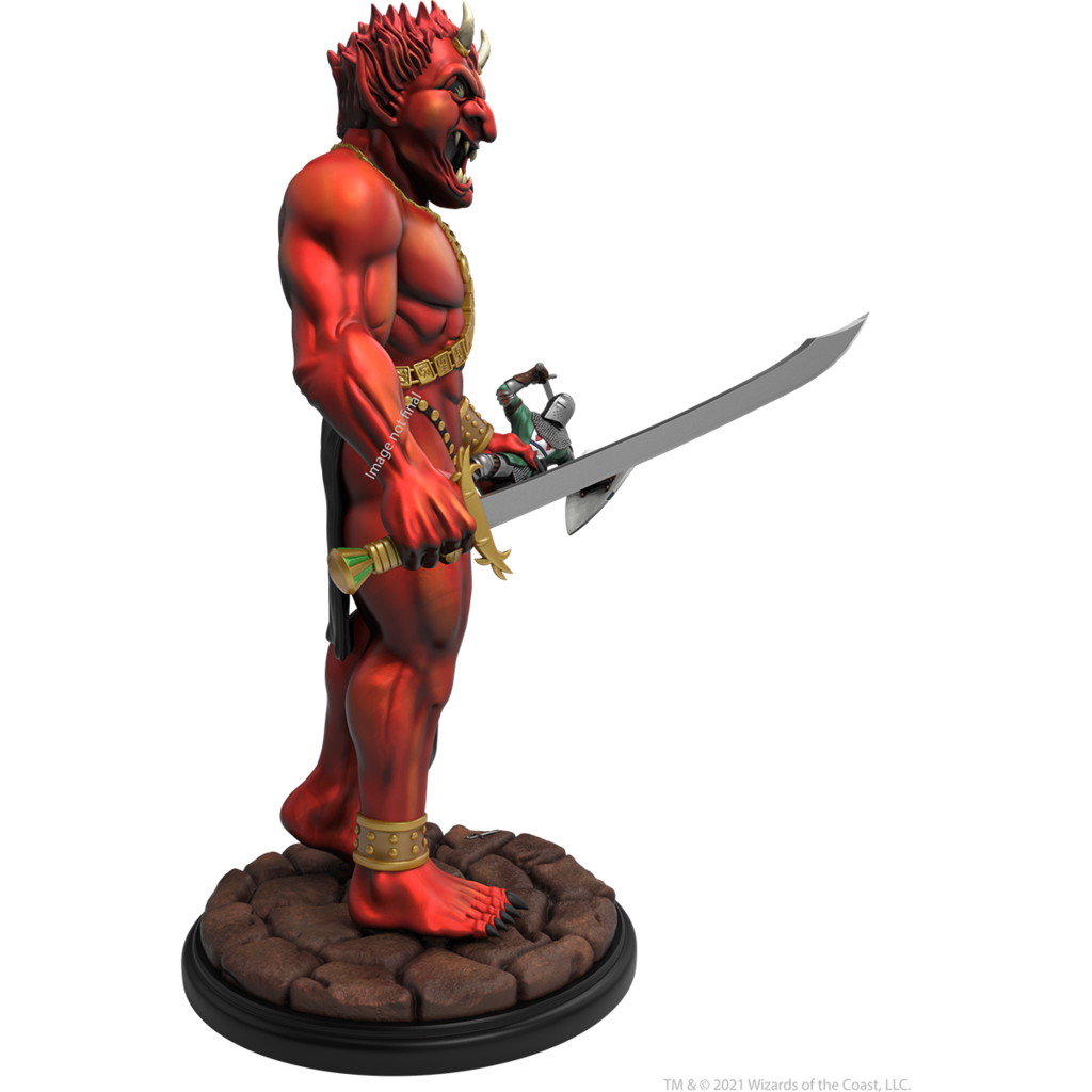Dungeons & Dragons Efreeti Statue