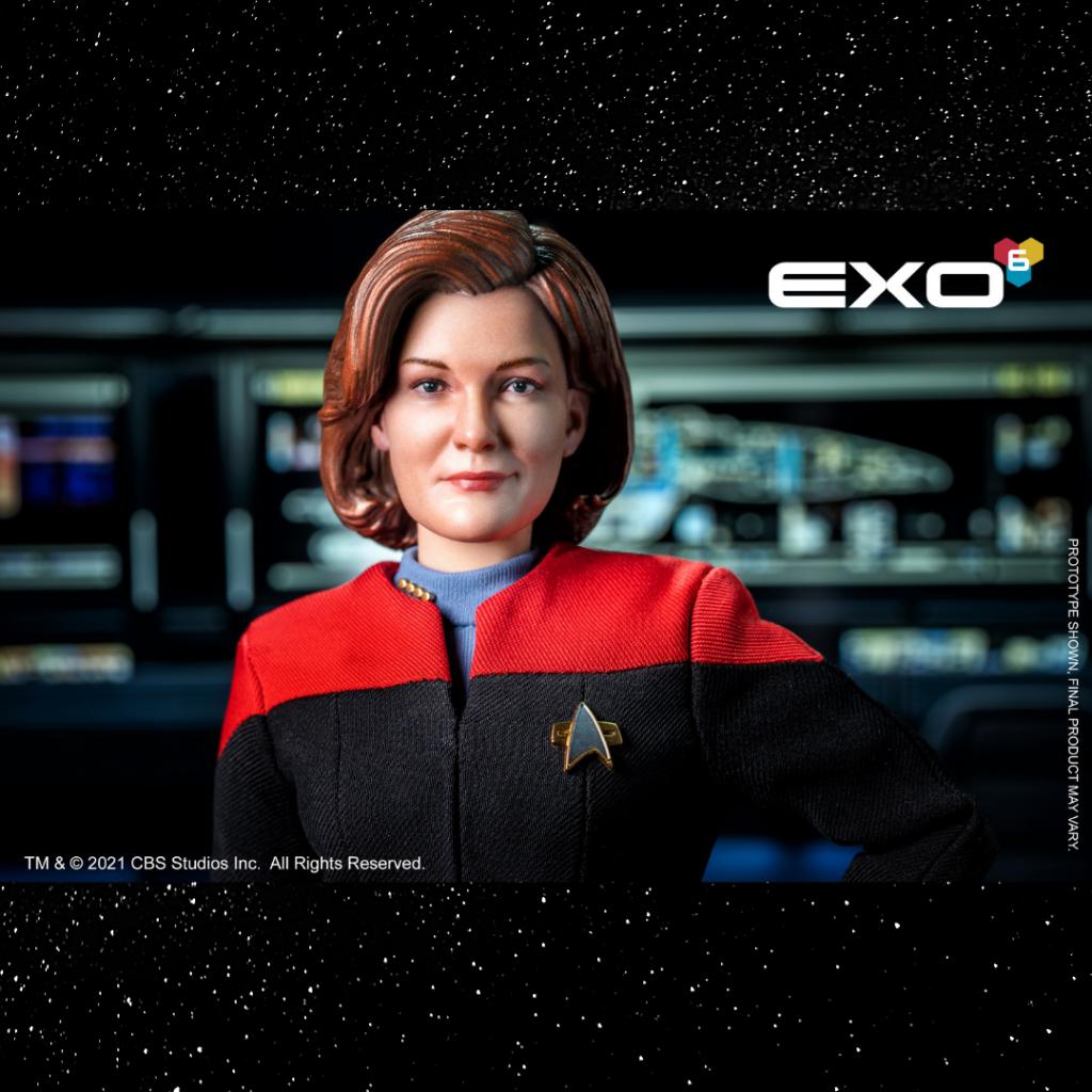 Exo-6 1/6 Scale Captain Kathryn Janeway