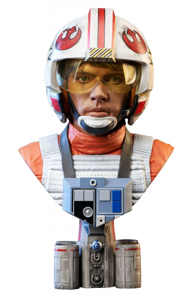 Legends in 3D–Luke Skywalker 1/2 Scale Bust