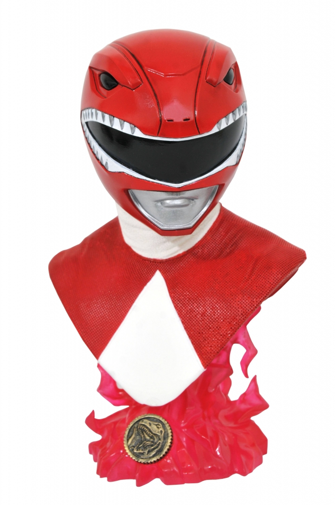 Legends in 3D?Red Ranger 1/2 Scale Bust