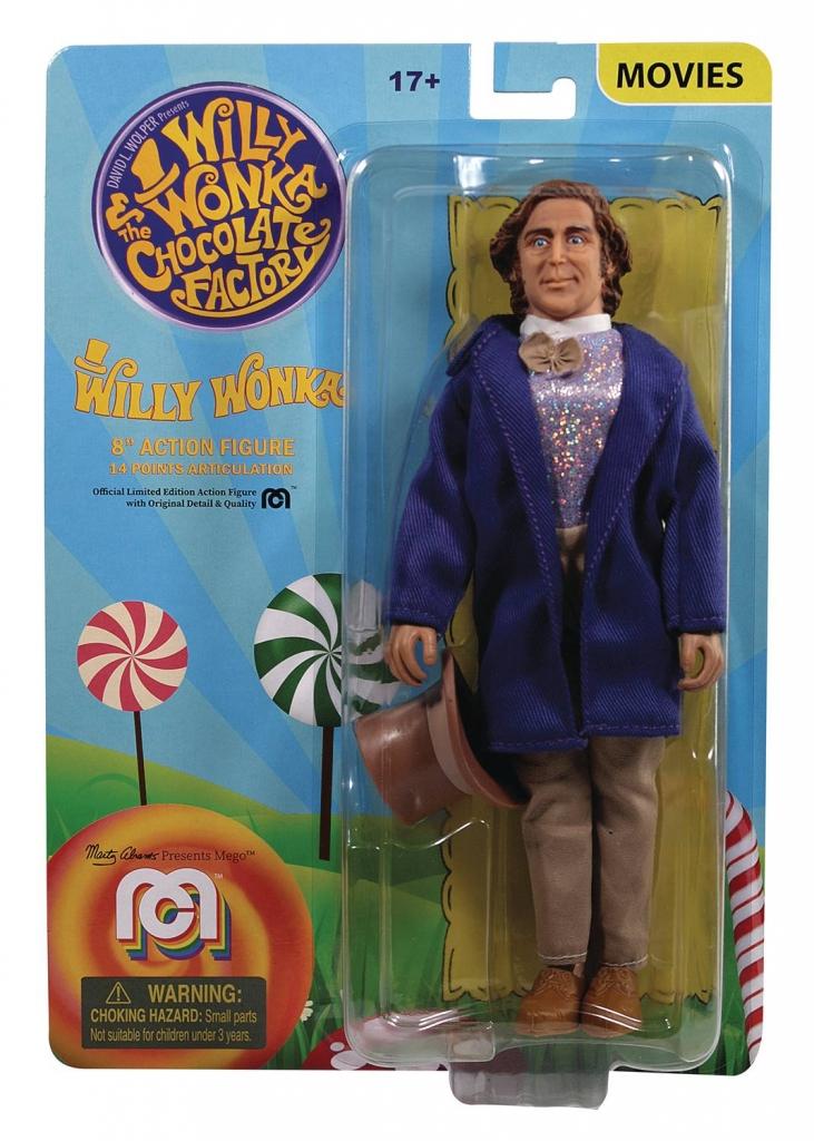 Mego Willy Wonka Action Figure