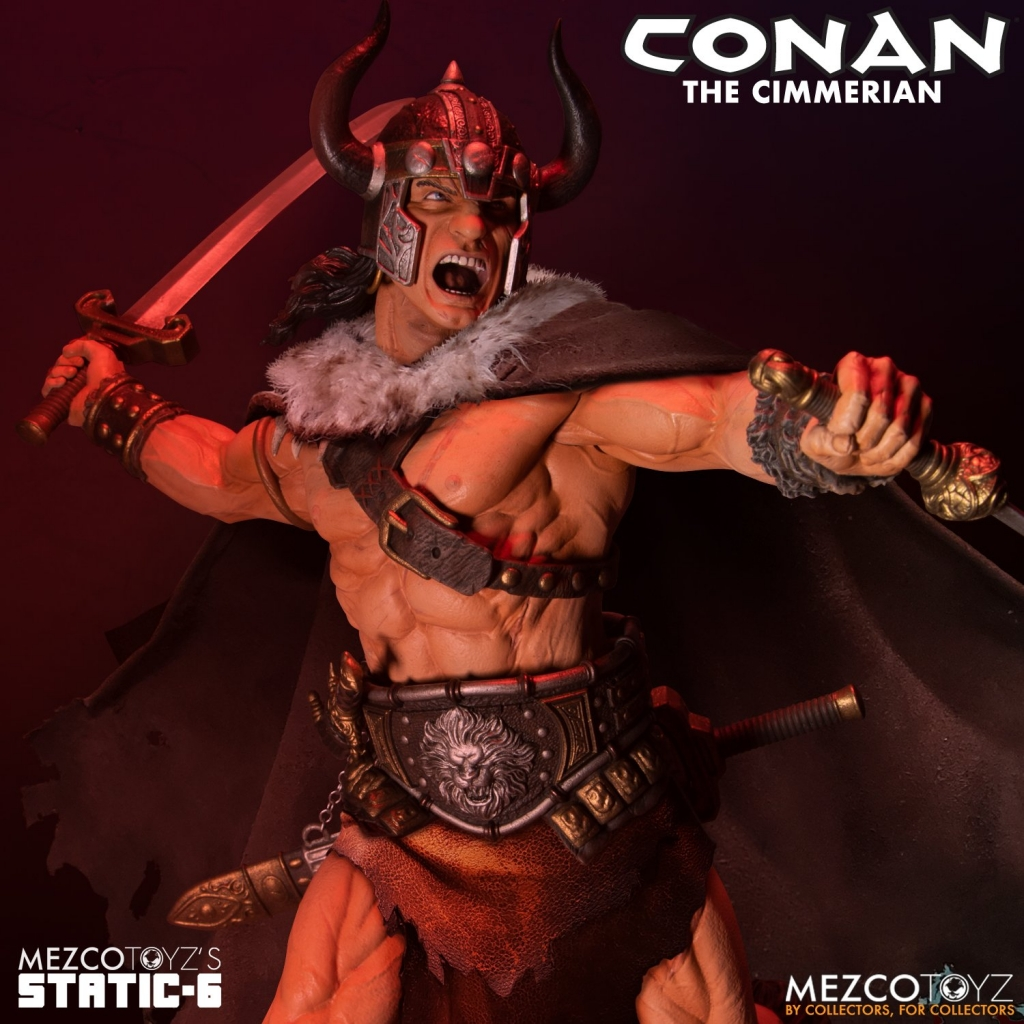 Mezco 1/6 Scale Conan The Cimmerian Statue