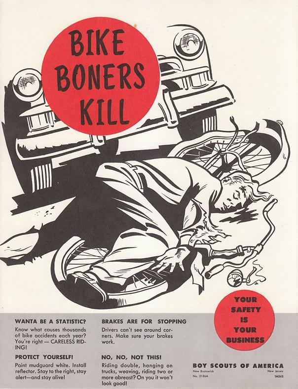 Boy Scouts of America PSA - Bike Boners Kill