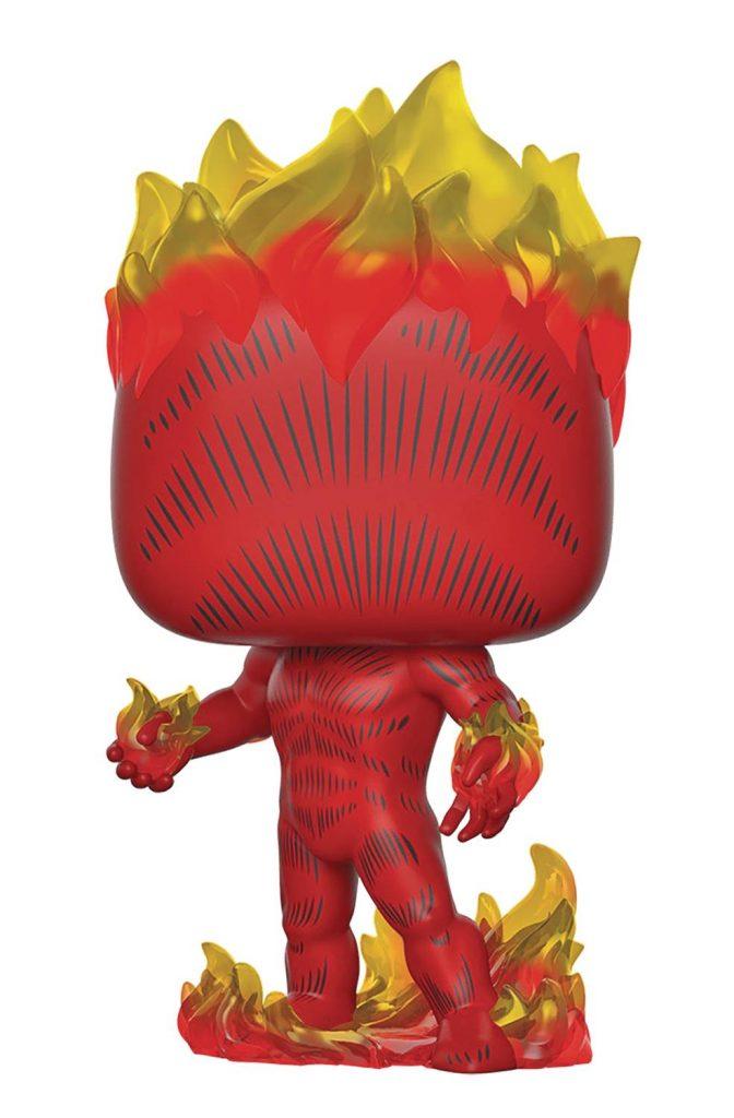 Funko Pop! Marvel 80th Anniversary Human Torch Vinyl Figure