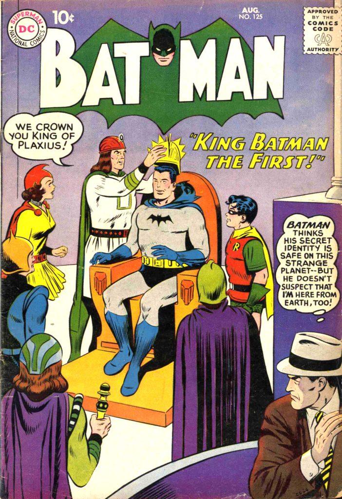 King Batman The First! - Batman No. 125 Cover