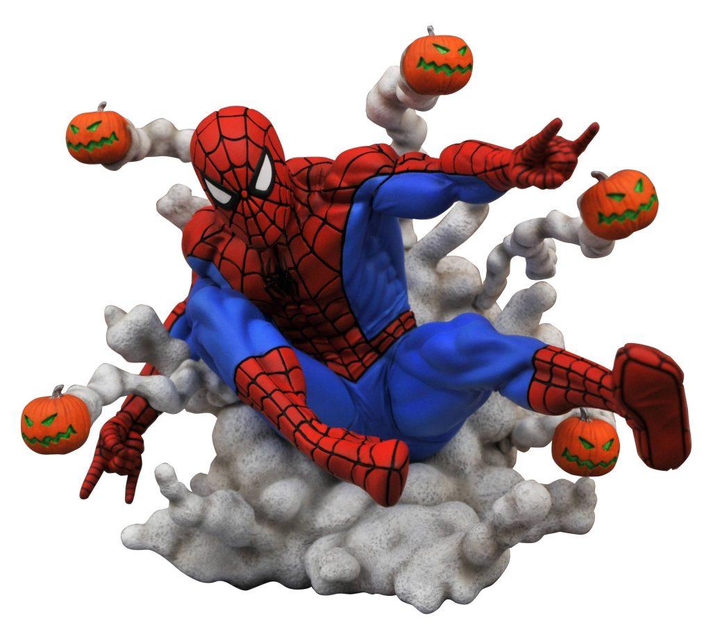 Spider-Man Pumpkin Bombs PVC Statue